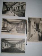 Lot De 4 Cartes De L'Ecole Edgar Quinet à Paris - Lycée - Schools