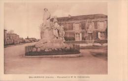 275 ST   HERMINE  CLEMENCEAU - Sainte Hermine