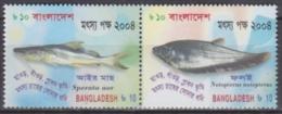 Bangladesh 2004 Yvert 756-57, Fauna, Fish - MNH - Bangladesh