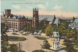 22708 CANADA - Quebec MONTREAL -dominion Square Carre -European Post C 2053 - - Montreal
