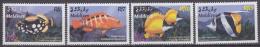 Maldives - Maldivas 2003 Yvert 3486-89, Tropical Fish, MNH - Malediven (1965-...)