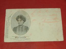 ANTWERPEN - Ter Gedachtenis Aan Mejuffer MARIA´S Heeren, Slachtoffer Van Den Lichtstoet -  1902  -  (2 Scans) - Antwerpen