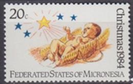 Micronesia 1984 Yvert 25, Christmas - MNH - Micronésie