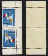 GRENOBLE - 38 - ISERE /  1968 VIGNETTES ILLUSTREES JEUX OLYMPIQUES / TETE BECHE (ref 4235) - Commemorative Labels