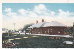 22728 CANADA - Quebec - Station Gare Du G T R St Saint Johns  -sans éd Chemin De Fer Train