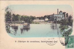 22730 CANADA - Quebec - Fabrique De Caoutchouc , Saint Jerome -la Librairie Prévost ST J