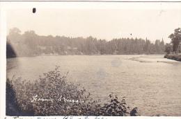 22731 CANADA - Quebec - Carte Photo Les Laurentides , Ferme Neuve Le Lac
