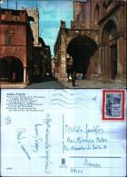 33259) Ascoli Piceno - Portale Del Tempio Di S. Francesco E Loggi A Dei Mercanti - Viaggiata - Ascoli Piceno