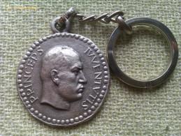 Llavero Benito Mussolini. Princeps Iuventutis. Littoriali Anno XI. 1933. Italia Fascista - Militares