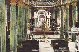 22738  CANADA - Quebec - Basilica St Ann Beaupre  Raphael Tuck 1007 Basilique Anne - Ste. Anne De Beaupré