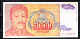 YOUGOSLAVIE 1994 50000 DINARA.TRES BEAU.VOIR PHOTO.B 385 - Yugoslavia