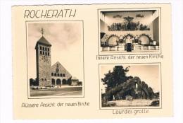 B4854    ROCHERATH : Lourdesgrotte / Neuen Kirche - Büllingen