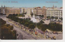(BCN171) BARCELONA.  PLAZA DE LA UNIVERSIDAD. TRANVIAS. TRAM  ++  A.T.V. 30 - Barcelona