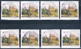 2014  1250 Jahre Kloster Lorsch (selbstklebend - Selfadhesif )  8 Stück - [7] Federal Republic