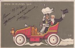 - Rome - 24-28 Avril 1904. Loubet / Vittorio Emanuele III - Savoia - Personaggi