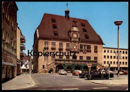 ÄLTERE POSTKARTE HEILBRONN FORD TAUNUS OPEL BMW MERCEDES TAXI CHAUFFEUR Droschken Taxen Station Cab Postcard Cpa - Taxis & Droschken