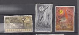 Tchécoslovaquie YV 1109; 113; 1543 O 1960; 1967 Oiseaux D'eau - Oiseaux