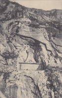 Switzerland Suwarow Denkmal bei der Teufelsbruecke