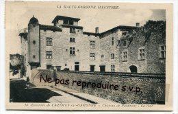 - 16 - Environs De CAZÉRES-sur-GARONNE - Château De Palaminy, La Cour, écrite, TBE, Scans. - Frankreich