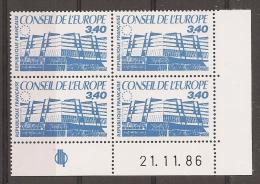Coin Date - Service 95 - Neuf Sans Charniere - Cote 17 Euros - Servicio