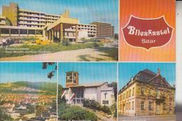 6653 BLIESKASTEL, Mehrbildkarte - Saarpfalz-Kreis