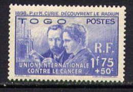 TOGO - N° 171* -  PIERRE ET MARIE CURIE - Togo (1914-1960)