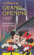 Télécarte Japon DISNEY STORE GO / 110-189778 - MICKEY MINNIE Yokohama 1997 - Japan Phonecard Telefonkarte - Disney