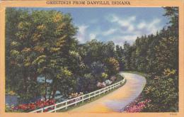 Greetings From Danville Indiana 1955 - Saluti Da.../ Gruss Aus...