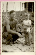 Photography - Father And Little Boy With Brandy - Foto