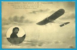 CPA AVIATION AVION - Monoplan BLERIOT - Moteur ANZANI - Piloté Par M. A. POIREE ° E L D Le Deley - Sin Clasificación