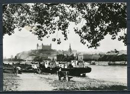 CSSR / Bratislava (deutsch: Pressburg) / Blick über Die Donau Zur Burg Von Bratislava - Gel. - Bild Und Heimat - Slovakia