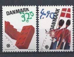 Danemark 1989 Série Neuve**  N° 953/954  Europa Jeux D´enfants - Danemark
