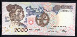 PORTUGAL 1992. 2000 ESCUDOS.BARTOLOMEU DIAS.EBC .B487 - Portugal