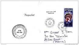 5] Lettre Transportée Par Paquebot - Polaire Polar France-urss 1985 - Polar Philately