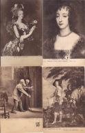 LOT   8 KAARTEN - Peintures & Tableaux