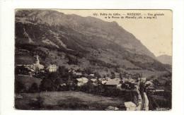 Cpa N° 657 Vallée Du Giffre MIEUSSY Vue Générale Et Pointe De Marcelly - Mieussy
