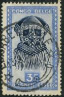 Pays : 131,1 (Congo Belge)  Yvert Et Tellier  N° :  288 A (o) - Congo Belge