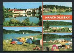 CSSR / Úlice / Hracholusky Nade Mzi / Talsperre / Mehrbildkarte - Gel. 1982 - Nr. 6 1937  Verlag Panorama, Praha - Tschechische Republik