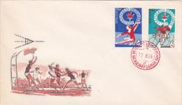 Russia 1965 Sports Souvenir Cover - Rusland En USSR