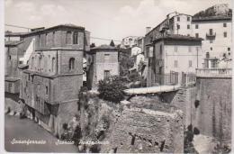 CPM SASSOFERRATO SCORCIO PANORAMICO - Ancona