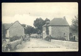 Cpa 23 Magnat L' étrange , Route De Crocq .......    Aubusson Bourganeuf BCH5 - Aubusson