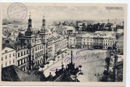 Tarjeta Postal De Checoslovaquia Pardubice - Eslovaquia