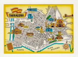 ESPAGNE - TARRAGONA - PLANO DE LA CIUDAD - PLAN DE LA VILLE - Tarragona