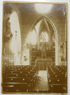 11 église De Roquefere De Labastide-Esparbairenque Près Mas Cabardes Photo Ancienne/carton 19°siècle Chapelle Ste Epine - Photos