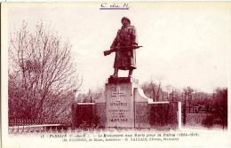 Environ De Dinan. PLESLIN- Le Monument Aux Mort 1914-1918- M. DUGENET, Architecte De Dinan. GALLAIS  D'Evran, Statuaire - Dinan