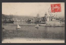 DF / 13 BOUCHES-DU-RHÔNE / LA CIOTAT / ENTRÉE DU PORT / CIRCULÉE EN 1908 - La Ciotat