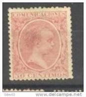 ES224-L2810TIO.España.Spain.Espagne. ALFONSO Xlll.1889/99. (Ed 224) SIN GOMA.MUY BONITO - Infancia & Juventud
