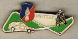 Pin's Gendarmerie - Bde De Mettet (Belgique) - Politie