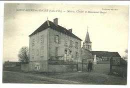 SAINT SEINE EN BACHEè Mairie, Clocher Et Monument Berger - France