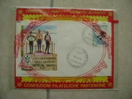 1970  GIOCHI INVERNALI   SCI SKI  NEVEGAL  BELLUNO    FIRST  DAY  COVER       FDC BUSTA - Italie